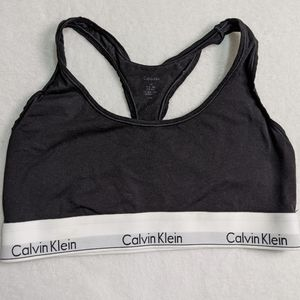 Calvin klein sports bra black classic